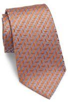 Giorgio Armani Zigzag Silk Tie
