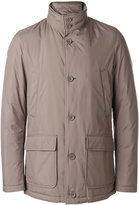 Herno high neck padded jacket - men - Cotton/Acrylic/Polyester - 48