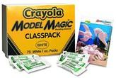 Crayola Model Magic Modeling Compound, 1 oz each packet - White (75 oz)
