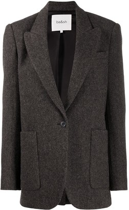 BA&SH Single-Breasted Blazer