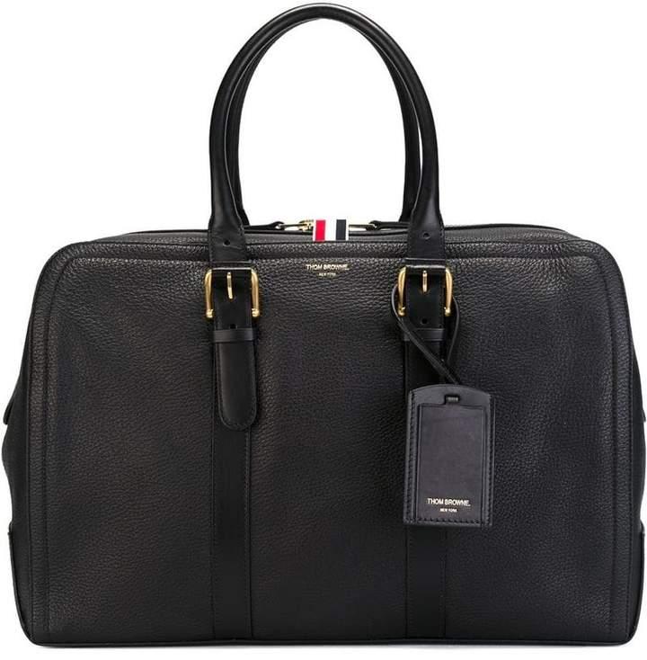 Thom Browne double zip tote bag