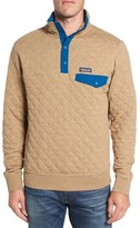 Patagonia Men's Snap-T Quilted Fleece Pullover