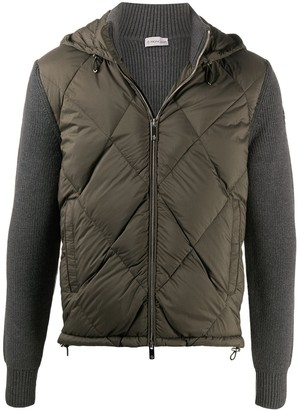 Moncler Padded Hooded Cardigan
