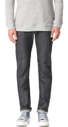 Naked & Famous Denim Skinny Guy - Left Hand Twill Selvedge Jeans