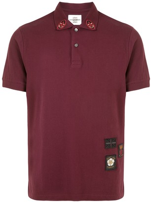Kent & Curwen Embroidered Patches Polo Shirt