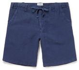 Hartford - Slim-fit Linen Drawstring Shorts