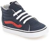 Vans 'SK8 Hi Zip' Sneaker (Baby, Walker & Toddler)