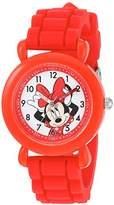 Disney Girl's 'Minnie Mouse' Quartz Plastic and Silicone Casual Watch