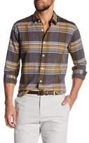 Theory Rammy Plaid Slim Fit Shirt