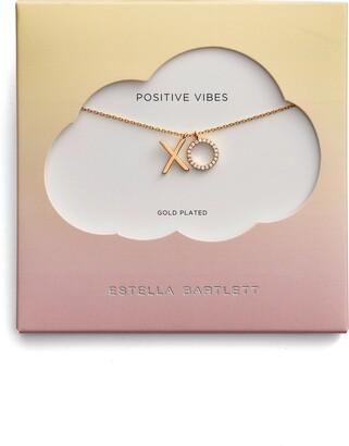 Estella Bartlett Positive Vibes Pendant Necklace
