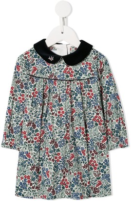 Familiar Peter Pan collar dress