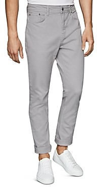 Reiss Spruce Twill Slim Fit Trousers