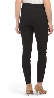 Pull On Pants With Zipper Details