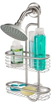 InterDesign Forma Polished Stainless Steel Ultra Suction Shower Caddy