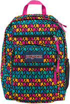 JanSport Big Student Backpack, Black Ele Fancy