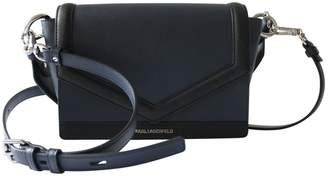 Karl Lagerfeld Paris Navy Synthetic Handbags
