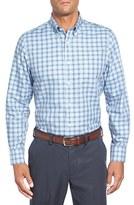 Nordstrom Men's Smartcare(TM) Regular Fit Plaid Sport Shirt