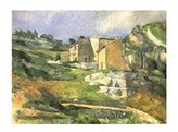 Cezanne 1art1 Posters: Paul Poster Art Print - Houses At The Estaque (20 x 16 inches)