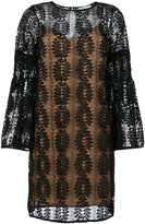 MICHAEL Michael Kors lace bell sleeve dress
