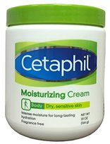 Cetaphil Moisturizing Cream for Dry, Sensitive Skin, Fragrance Free, Non-comedogenic, 20 Oz Each (Pack of 2)
