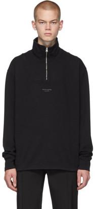 Acne Studios Black Faraz Sweater