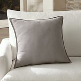 "Crate & Barrel Sunbrella ® Stone 20"" Sq. Outdoor Pillow"