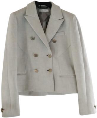 Versace Grey Viscose Jackets