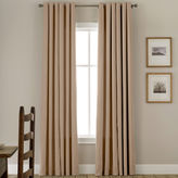 JCPenney JCP Home Collection HomeTM Jenner Cotton Grommet-Top Thermal Curtain Panel