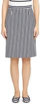 Brooks Brothers Stripe A-Line Skirt