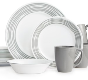 Corelle Brushed 16-Pc. Dinnerware Set, Service for 4