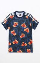 adidas Floral Jersey T-Shirt
