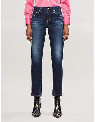 AG Jeans Ex-Boyfriend Slim high-rise jeans