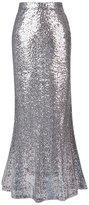 MNBS Women's Slim Fit Skirt Sequin Sparkling Fishtail Skirt M