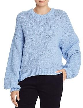 Joie Ojo Crochet Knit Sweater