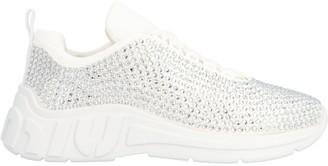 Miu Miu Crystal Low-Top Sneakers
