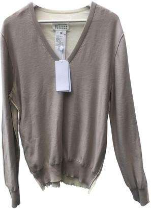 Maison Margiela Ecru Cashmere Knitwear & Sweatshirts