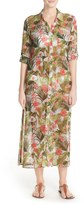 Tommy Bahama Beau Jardin Chiffon Cover-Up Shirtdress