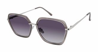 Nanette Nanette Lepore Nanette by Nanette Lepore Women's NN290 Geometric Sunglasses with 100% UV Protection