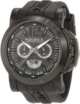 Haurex Italy Men's San Marco Aluminum Rubber Chrono Watch 3N370UNN
