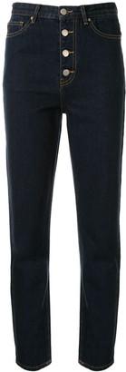 Georgia Alice High-Rise Slim-Fit Jeans