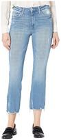 Joe's Jeans Hi (Rise) Honey Curvy Cropped Boot in Nettle (Nettle) Women's Jeans