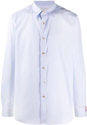 Paul Smith Contrasting-Cuff Cotton Shirt