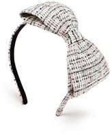 Kate Spade Girls' Tweed Bow Headband