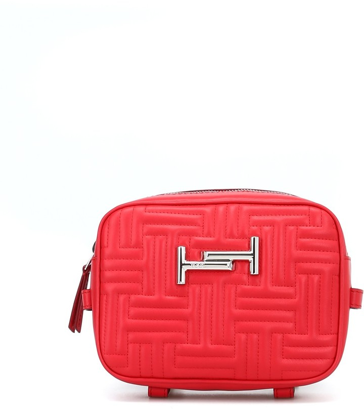 Thumbnail for your product : Tod's Double T Quilted Crossbody Bag