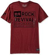Rock Revival Rock Black Label Short-Sleeve Graphic T-Shirt