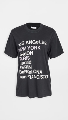 Anine Bing Lili City Love Tee