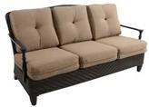 Paula Deen Bungalow Patio Sofa with Cushions Home Cushion Color: Brown