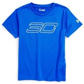 Under Armour Boy's Sc30 Heatgear T-Shirt