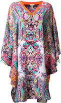 Etro printed silk dress - women - Silk - S