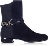 Loriblu Night Blue Suede Bootie
